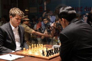 World chess champ Magnus Carlsen