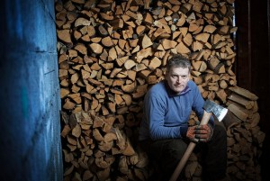 "Lars Mytting wrote ""Solid Wood"" & inspired a TV program about firewood."