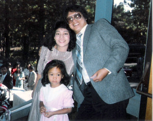 Melanie Vanderlipe Ramil  & her parents