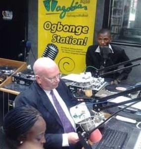 U.S. Ambassador to Nigeria James Entwhistle